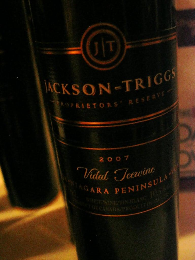 2007 Jackson-Triggs Proprietors' Reserve Vidal Icewine