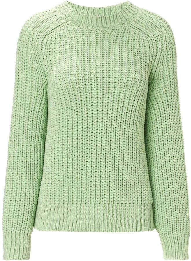 Cédric Charlier Mint Green Jumper (£385)