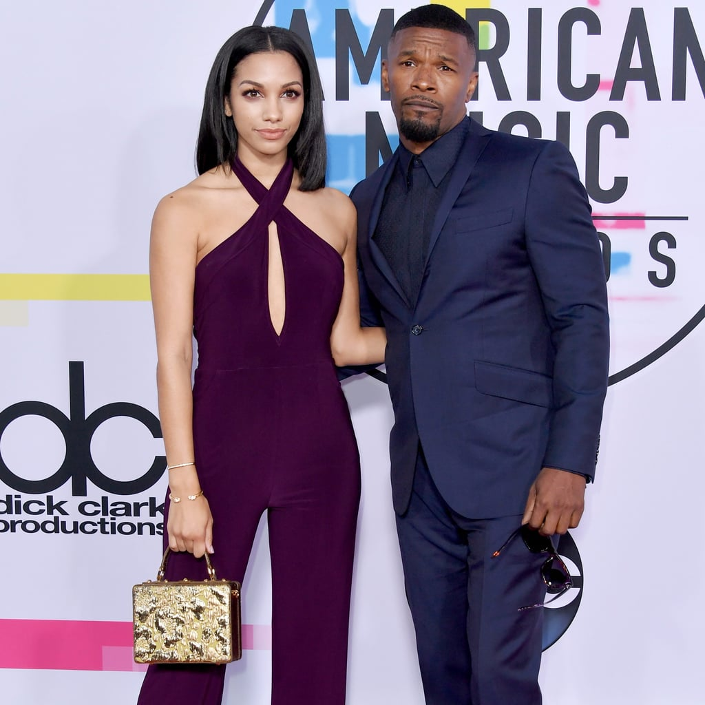 Jamie Foxx and His Daughter at the 2017 AMAs