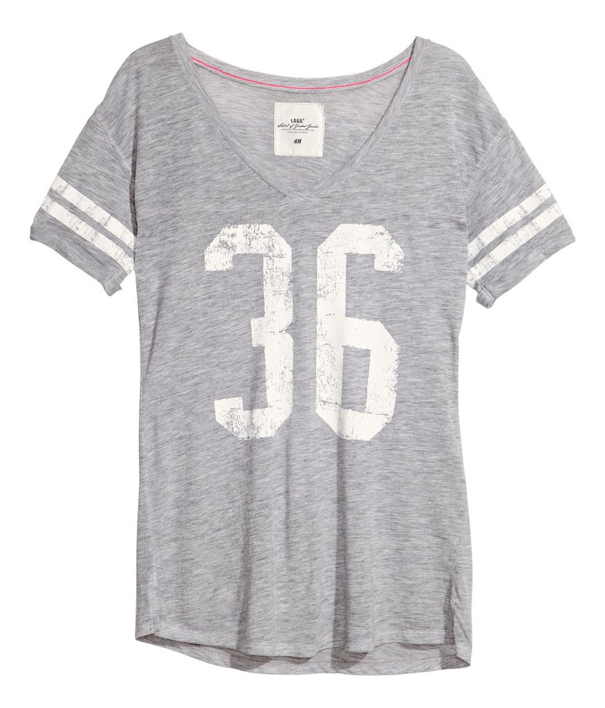 You already know how we feel about varsity-style t-shirts. See what we're fussing about with this slouchy pick ($18).