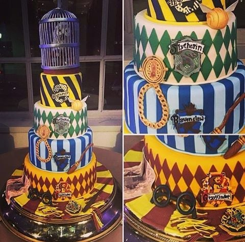 Harry Potter Birthday Cakes For Kids