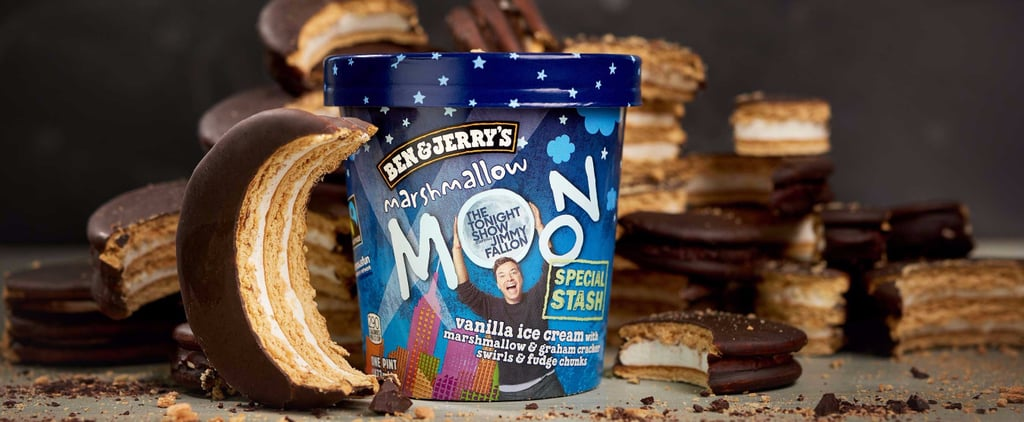 Ben & Jerry's New Marshmallow-Filled Ice Cream Flavor Will Make You Melt