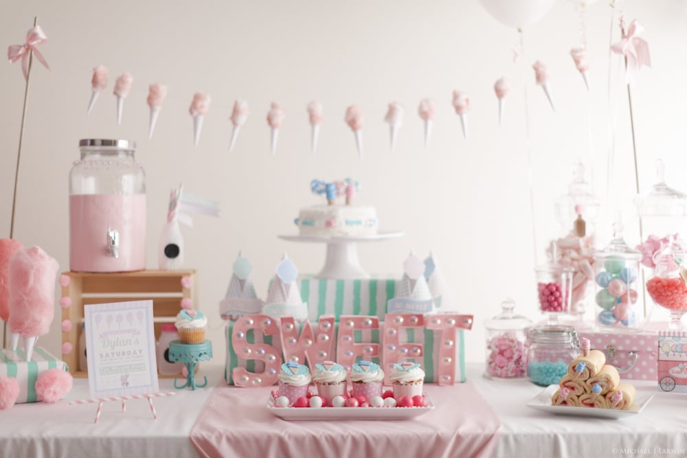 An Oh-So-Sweet Cotton Candy Party!