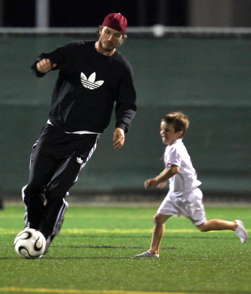 Pictures of the Beckham Boys