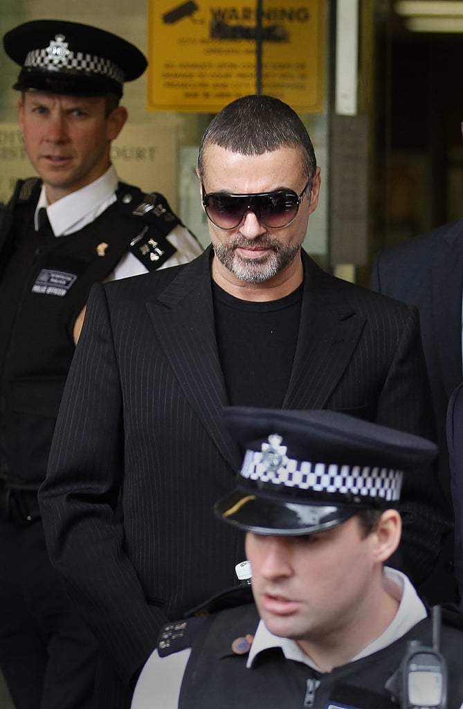 George Michael Appears in Court for Drug Driving and Cannabis Possession