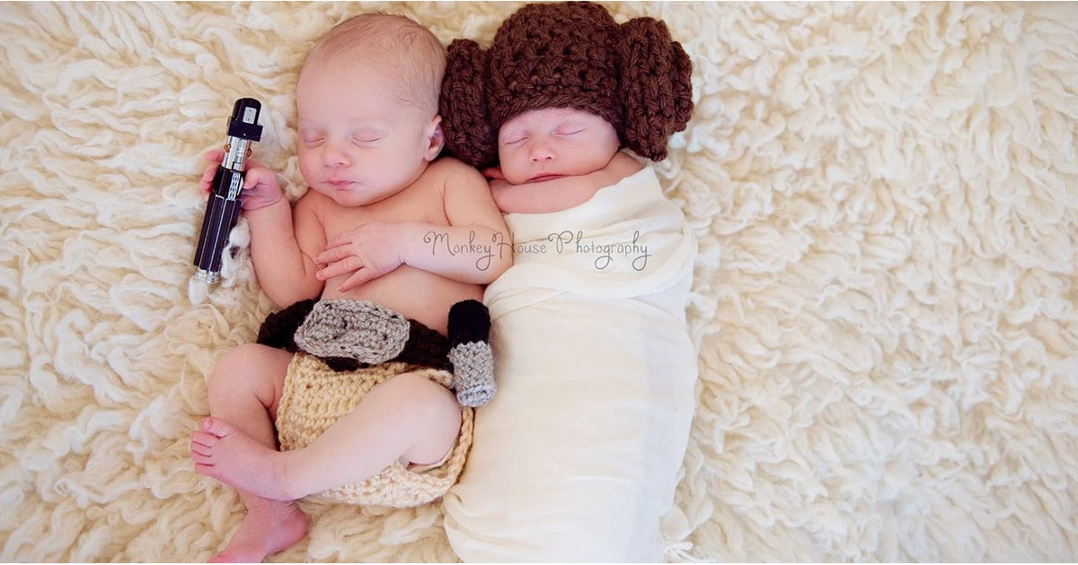 Crocheted Star Wars Outfits For Babies Popsugar Moms