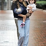 Sarah Jessica Parker with Tabitha and Marion in NYC.