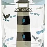 Magpie Ahoy! Lighthouse Glass (£7)