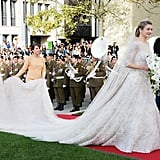 In Fact, It's Worthy of Real Royals — Princess Stéphanie of Luxembourg Got Married in a Custom Elie Saab Creation