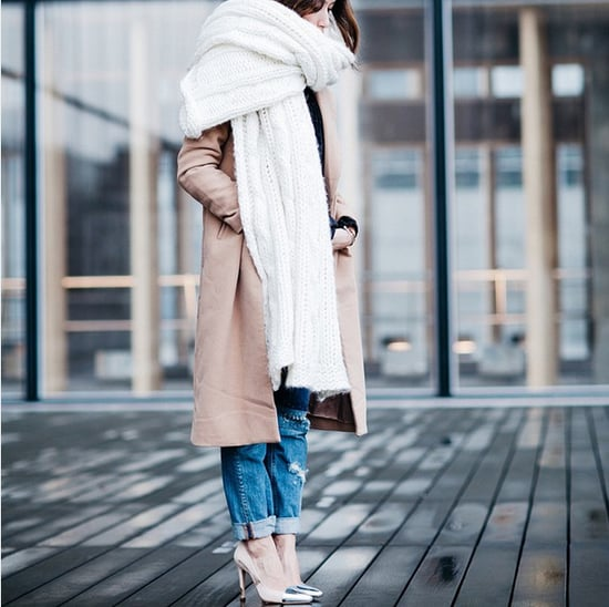 How to Wear a Scarf Outfit Ideas