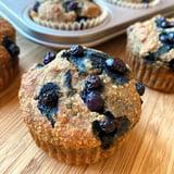 Sugar-Free Vegan Blueberry Muffins