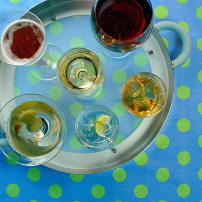 Happy Hour Etiquette: Don't Touch That Tray!