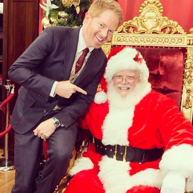 Jesse Tyler Ferguson was dressed to the nines for a meeting with Santa Claus. Source: Instagram user jessetyler
