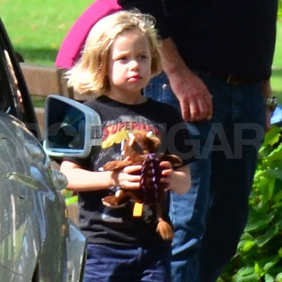 Shiloh Jolie-Pitt in London.