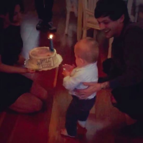 Louis Tomlinson's Son Freddie First Birthday Pictures