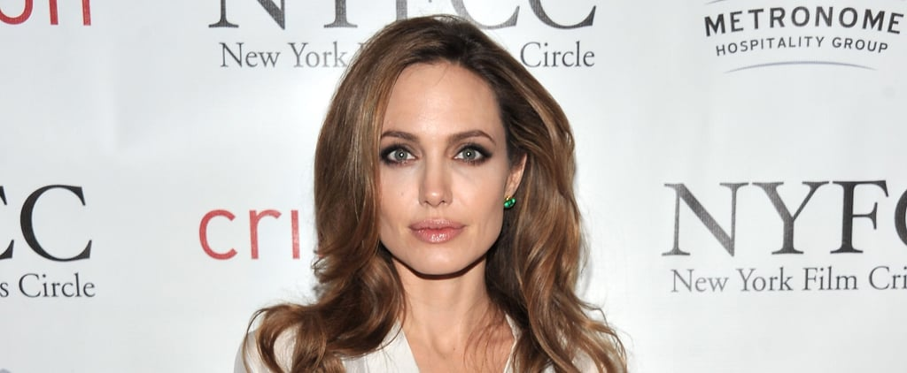 This Necklace Was Named After Angelina Jolie — and It's More Than 800 Freakin' Carats