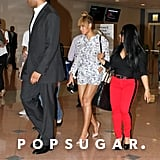 Beyonce Knowles at Art Basel in Miami