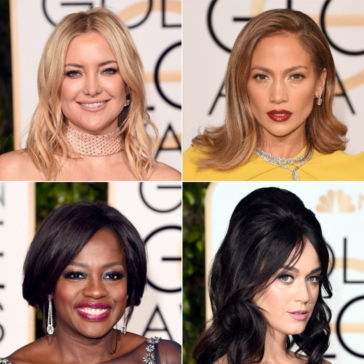 Hair and Makeup at Golden Globes 2016 | Red Carpet Pictures