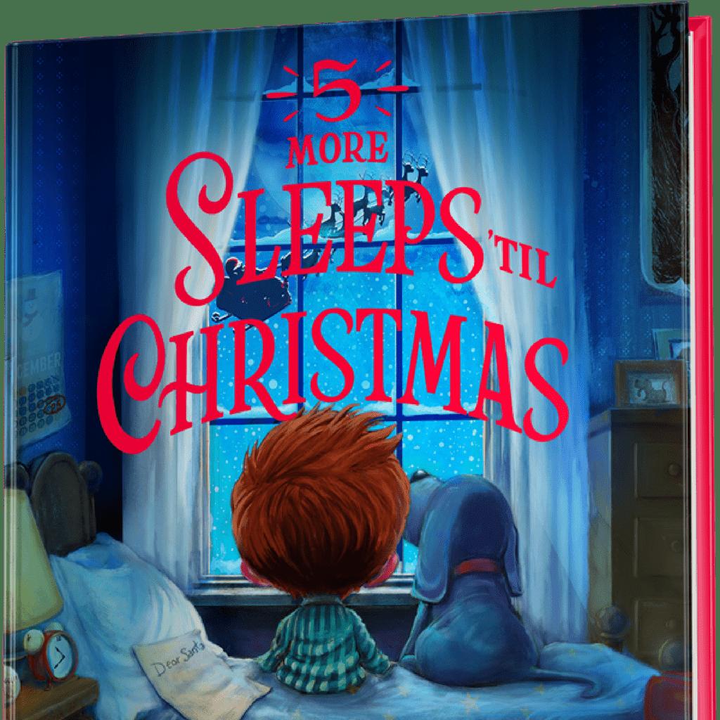 Jimmy Fallon's Book 5 More Sleeps 'til Christmas Details