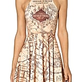 Marauder's Map Reversible Skater Dress ($90)