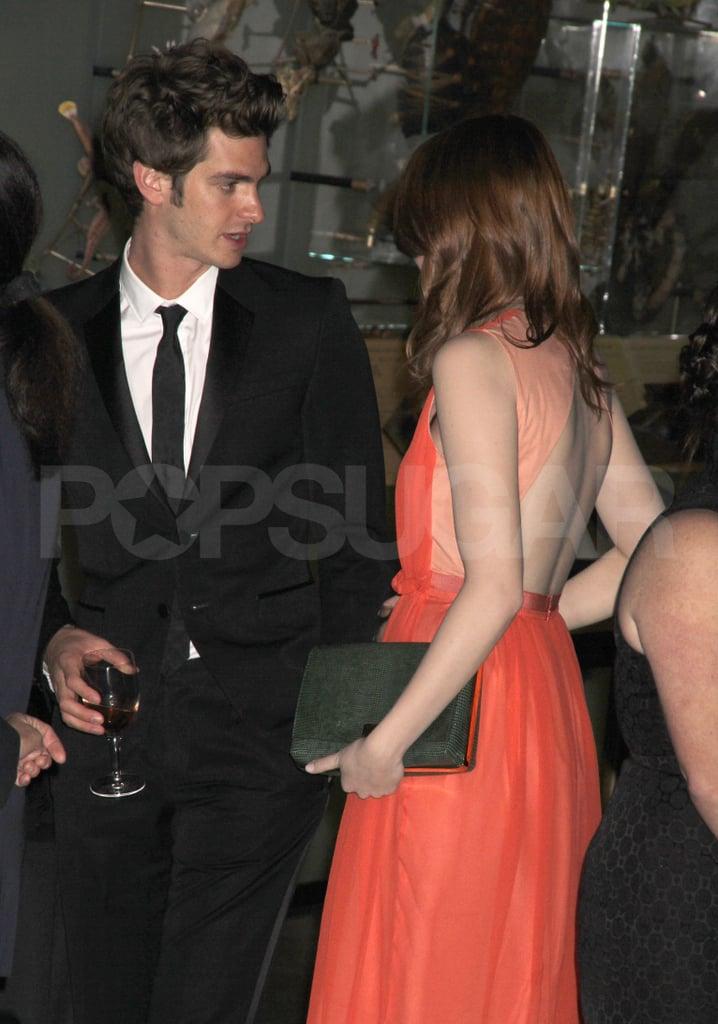 Emma Stone and Andrew Garfield Go Public at NYC Museum Gala