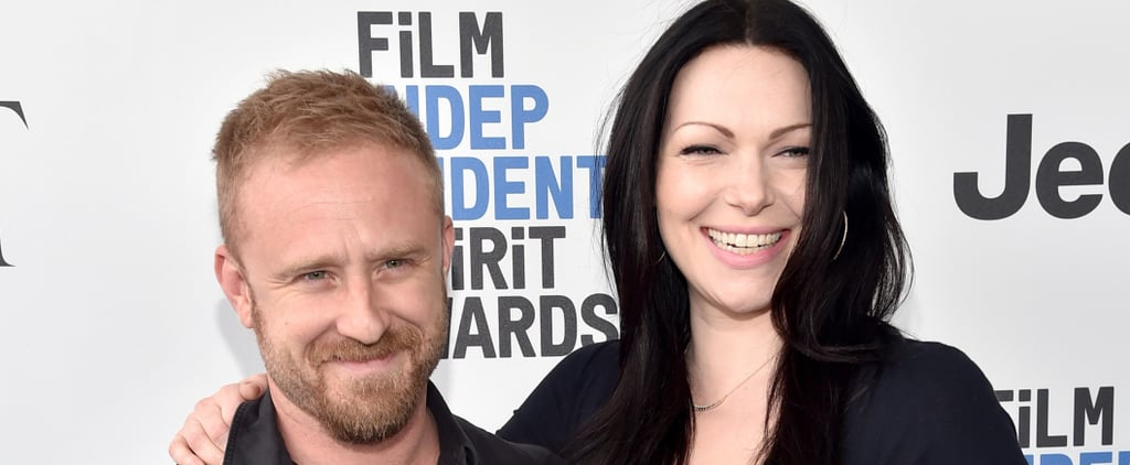 Laura Prepon Cradles Her Baby Bump at the Spirit Awards With Ben Foster