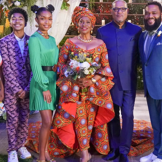 Black-ish Cast Wedding Outfits 2020   Photos