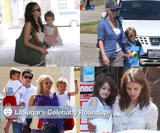 Pictures of Celebrity Parents and Their Children
