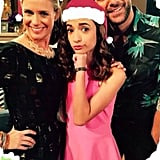 Soni Nicole Bringas posted this Christmas greeting card with her on-screen parents, Barber and Juan Pablo Di Pace.