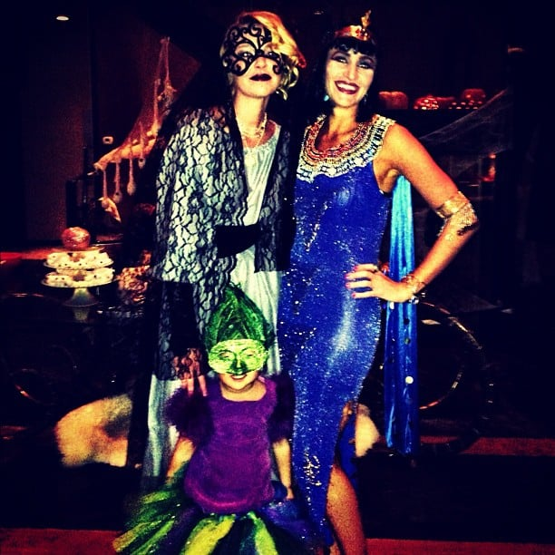 Katherine Heigl got into the spirit of the holiday and dressed as a corpse bride. Source: Instagram user katiemheigl