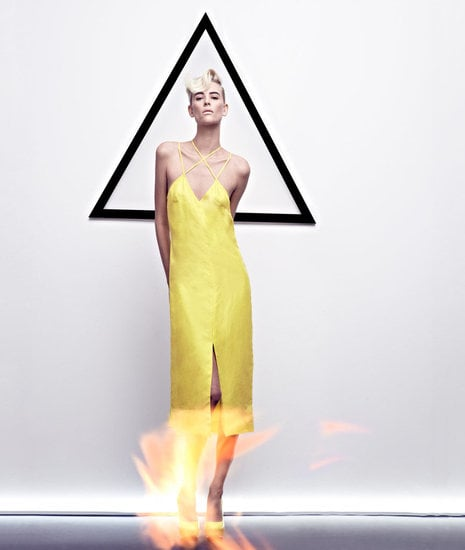 Cushnie et Ochs injects a pop of yellow in its Spring '12 ads. Source: Fashion Gone Rogue
