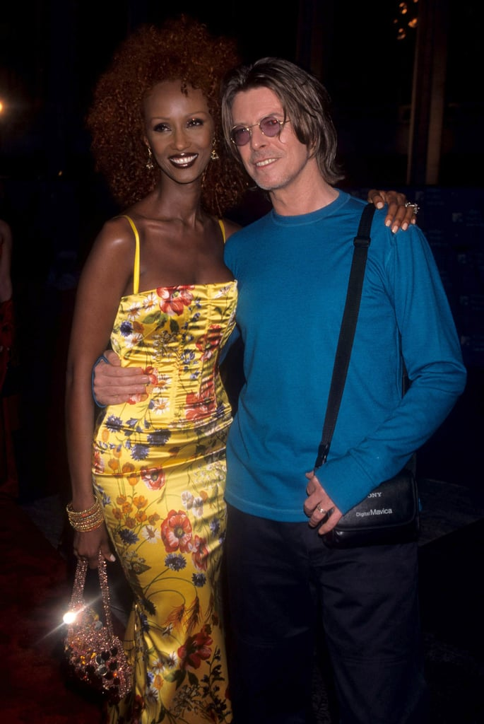 Iman and David Bowie, 1999