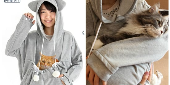 Mewgaroo Hoodies Now Have Larger Pockets, Presumably For Fatter Cats