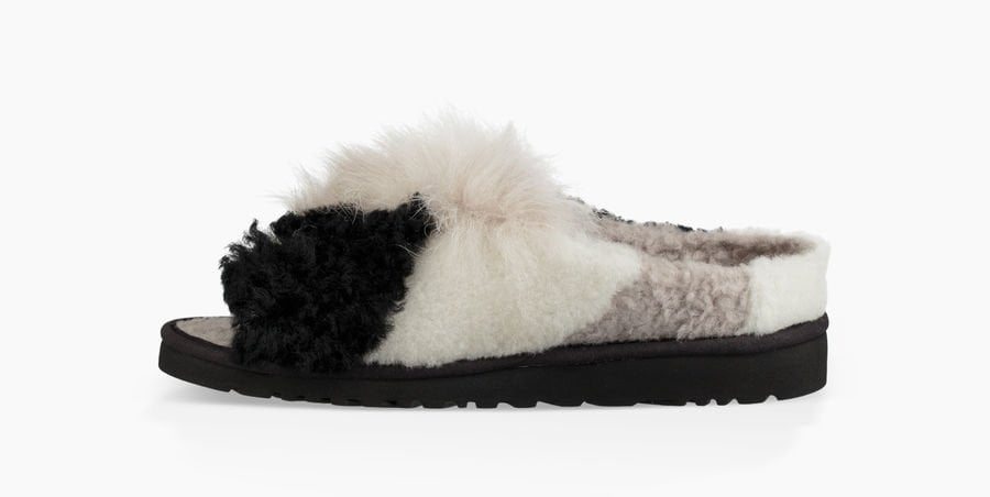6bdbe4f8f68 UGG Patchwork Fluff Slide | Are UGGs Still in Style? | POPSUGAR ...