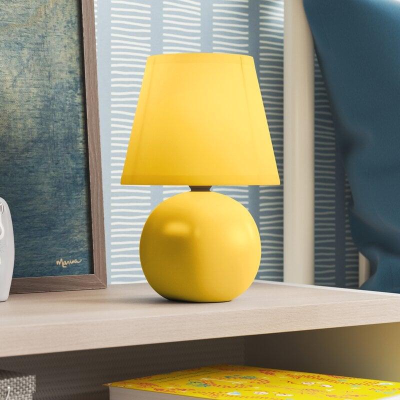 Louis Ceramic Globe Mini Table Lamp
