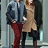 Emma Stone and Andrew Garfield were adorable on a day out in NYC.