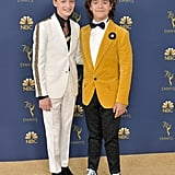 He and Gaten Matarazzo Reunited on the Red Carpet