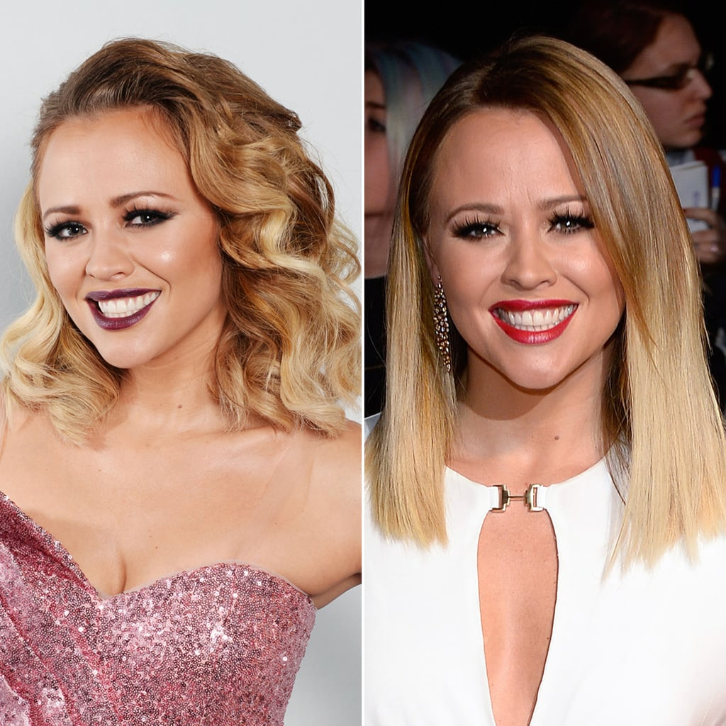 Kimberley Walsh Midlength Hairstyle | Curly or Straight?
