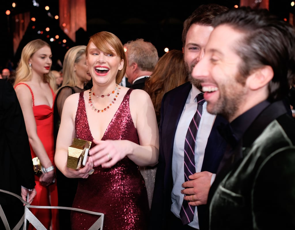 Pictured: Bryce Dallas Howard and Simon Helberg