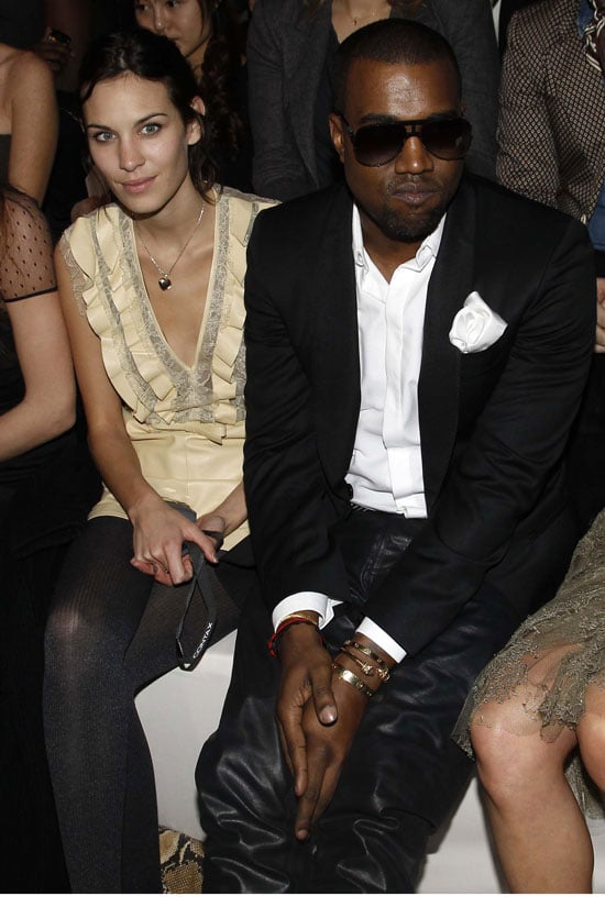 Kanye West and Alexa Chung were two of the faces in the front row at Paris Fashion Week yesterday. They were side by side at Valentino, and Kanye caught up with his blue-haired pal Katy Perry at the Jean-Charles de Castelbajac. Alexa also attended the Chanel show alongside Lily Allen, Emma Roberts and Florence Welch. Natalia Vodianova and Florence were also at Valentino, and the redhead has been a familiar fixture in the front row this fashion week. Meanwhile, Naomi Campbell and Anna Wintour were among those at the Alexander McQueen show — click through to see more!