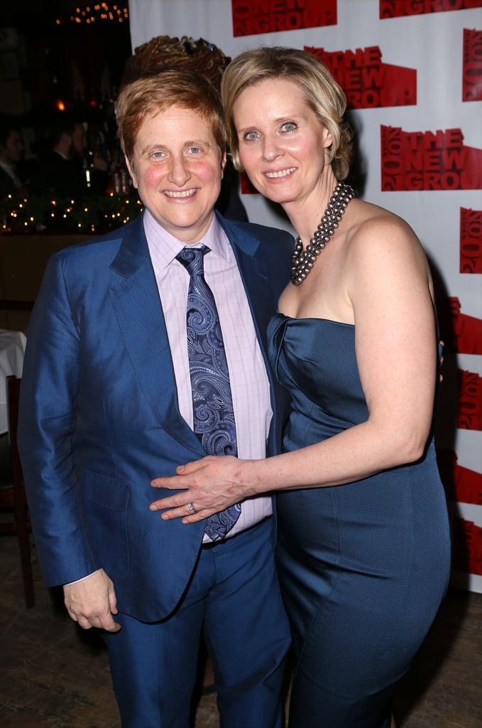 Cynthia Nixon and Christine Marinoni