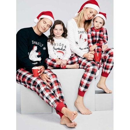 93e5311d6 Family Matching Pajamas Set for Mom Dad Baby - Walmart.com