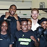 Prince Harry at Made by Sport Launch in London June 2019