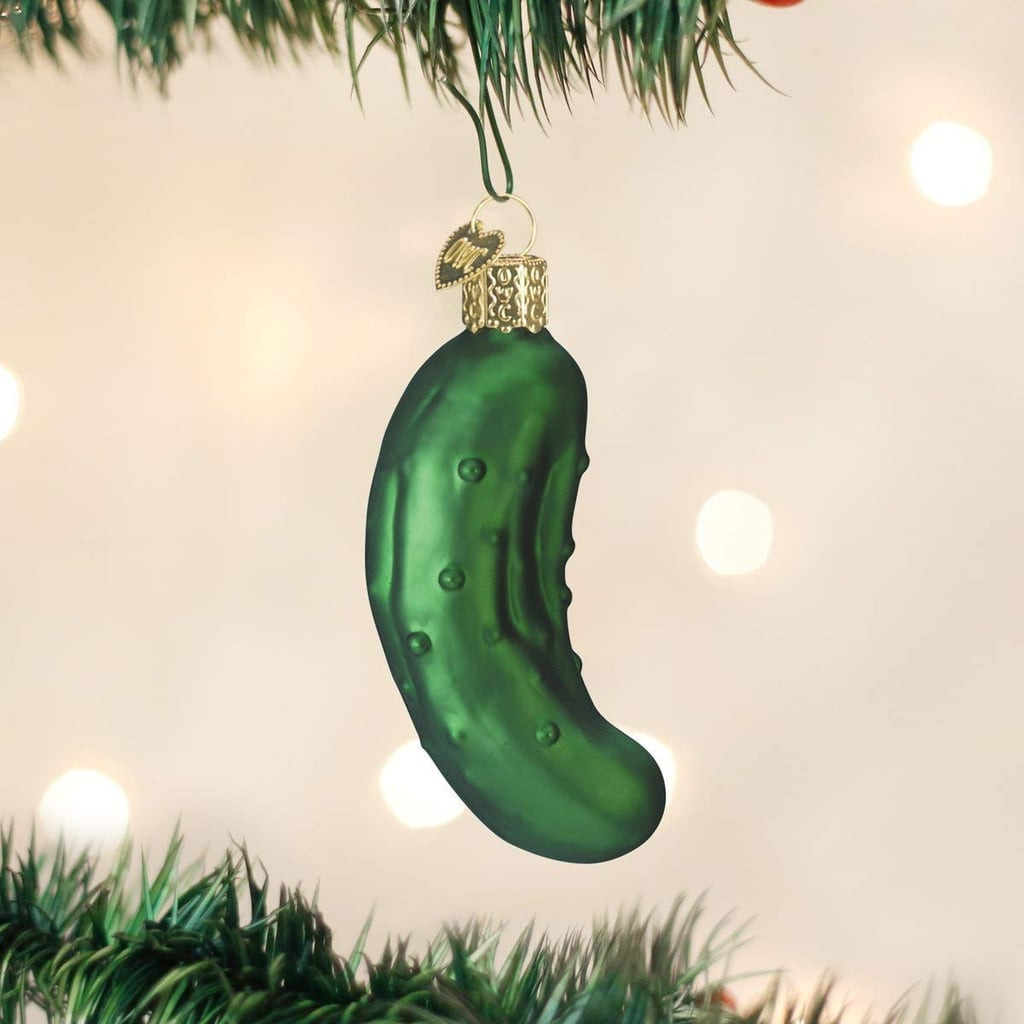 Pickle Christmas Tree Ornament Tradition