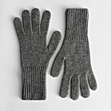 & Other Storeis Cashmere Knitted Gloves