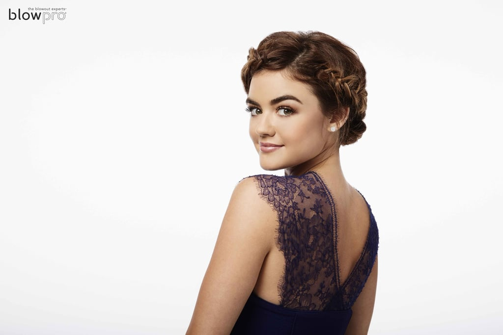 Lucy Hale For Blowpro