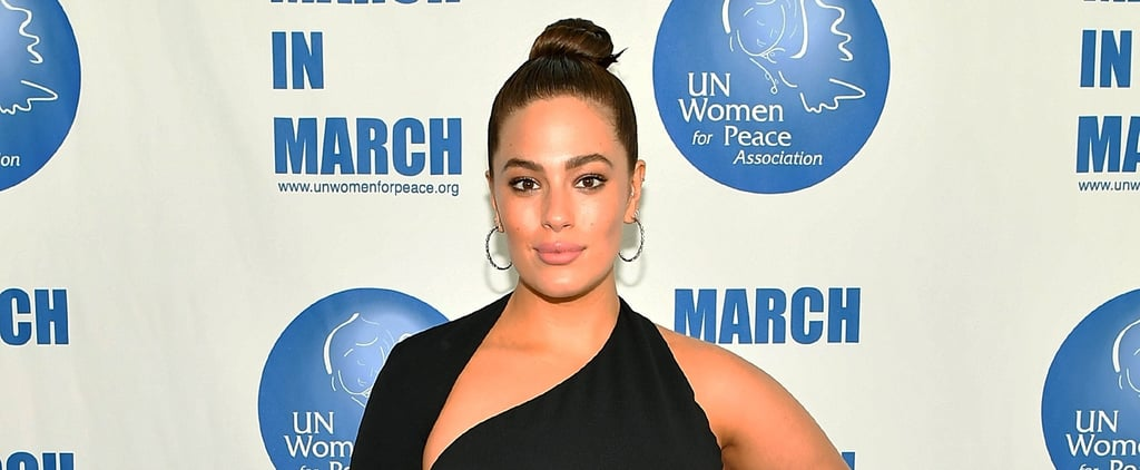Ashley Graham's Little Black Dress Is Unexpected, and So Is That Rock-Your-Socks-Off Cutout