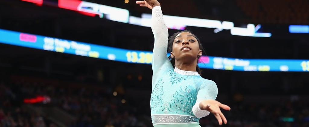 Simone Biles Vault 2018 World Team Selection Camp