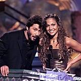 Keanu Reeves and Jennifer Lopez