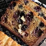 No-Knead Blueberry Banana Bread